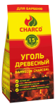 УГОЛЬ ДРЕВЕСНЫЙ 1,5 КГ CHARCO ЧАРКО CHARCO АРТИКУЛ 101302000